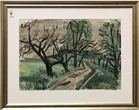 tree grove by carl johann rabus
