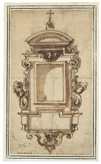 entwurf für einen epitaph by cherubino alberti