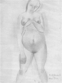 schwangere frau by herbert garbe