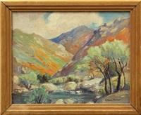 spring in kerns river canyon by evylena nunn miller