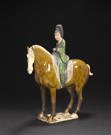 an equestrian by anonymous chinese tang dynasty