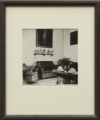 frida and diego's parlor in the coyoacan house by emmy lou packard