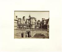 palais de st. cloud & hotel de cluny (2 works) by achille quinet