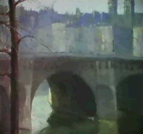 pont neuflhorloge by arthur atkins