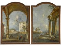 a pair of capriccios by italian school-venetian (19)