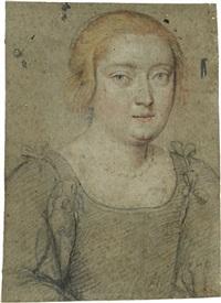 bildnis einer jungen dame by ippolito leoni