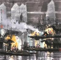 湖上渔家 by xu xi