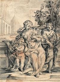 allegorie der liebe by michael ignaz mildorfer