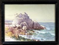 rocky coastal view by william adam