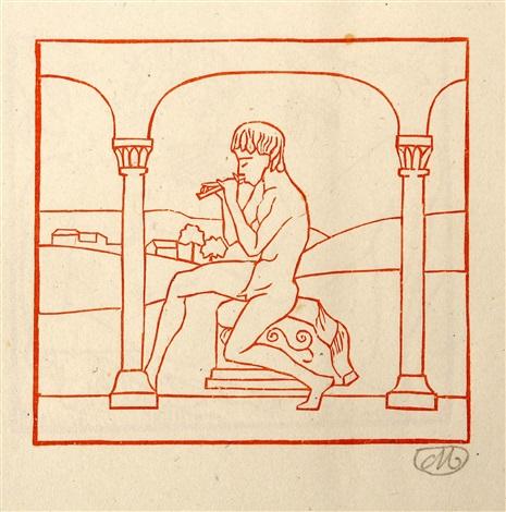virgil les églogues bk woriginal woodcuts by aristide maillol