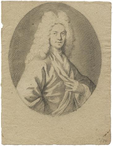 brustbildnis eines mannes mit allonge perücke by jacopo amigoni