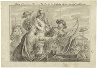 wilhelm tell soll seinem sohn einen apfel, den ihm der statthalter auf den kopf setzt, herab schießen by bernhard (christian bernhard) rode