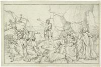 die predigt johannes d. täufers by peter von cornelius