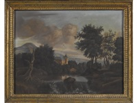 a pair of landscapes by continental school (19)