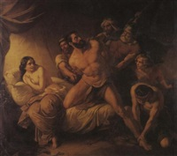 samson and delilah by paul emil jacobs