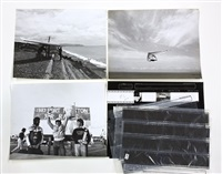 hang-gliding (6 works) by leroy grannis