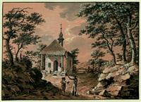 die kapelle des wilhelm tell bei küsnacht by johann conrad gessner