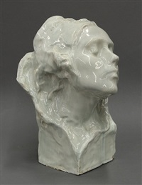 female bust by edgardo simone