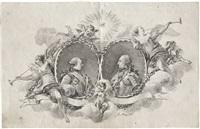 allegorisches allianzbildnis zweier fürsten by joseph melling