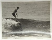 surfing - manhattan pier (california) (25 works) by leroy grannis