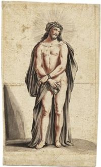 stehender, dornengekrönter christus by josef anton seltenhorn