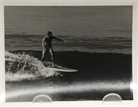 surfing - manhattan pier (california) (26 works) by leroy grannis