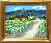 napa valley (+ mondavi winery, carneros; 2 works) by pam glover