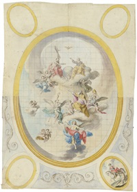 die aufnahme des hl. augustinus in den himmel by anonymous-german (18)