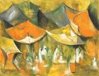 village market by douglas macdiarmid