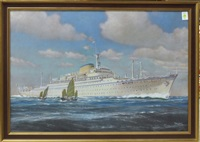 victoria cruise ship by p. klodic