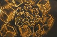 untitled (cubes) by mel bochner