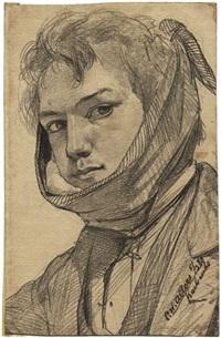 selbstporträt mit zahnschmerzen by christian wilhelm allers