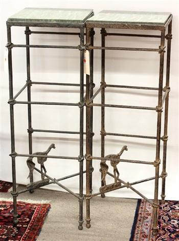 pedestals pair by arthur court