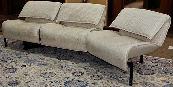 Veranda 3 Sofa In Parts By Vico Magistretti