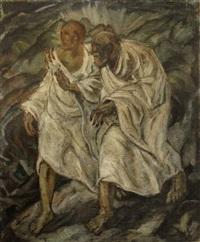 eliah and elisha by friedrich tischler