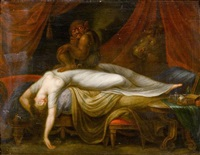 der nachtmahr by henry fuseli