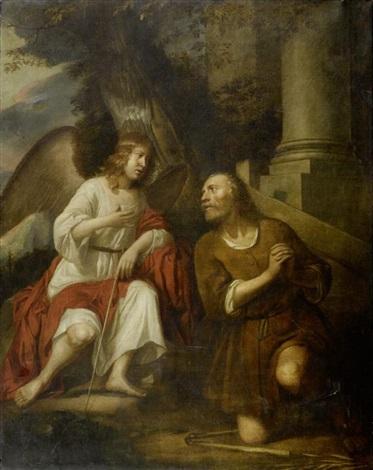 besuch des engels bei gideon by gerbrand van den eeckhout