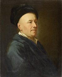 portrait eines gelehrten (caspar füssli?) by anton graff