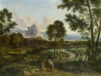 weite landschaft mit figuren by anonymous-flemish (18)