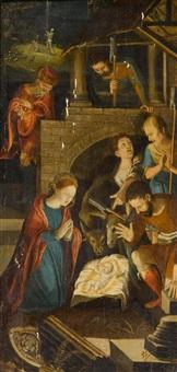 anbetung der hirten by maerten jacobsz van heemskerck