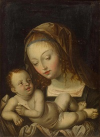 madonna and child with the pear by albrecht dürer
