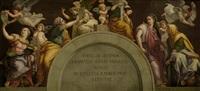die vier sibyllen (after raphael) by adolf (carl) senff