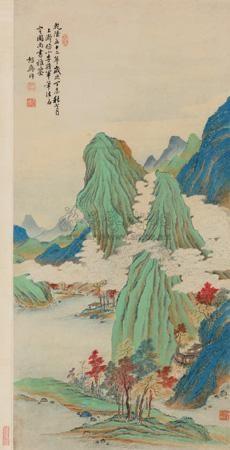 秋山红树 by hong wu