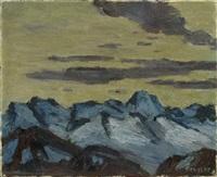 schweizer berglandschaft by arnold brügger