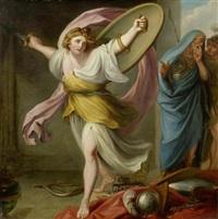 odysseus als frau verkleidet bei lykomedes by anonymous-british (19)