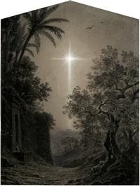 der stern von bethlehem von palmyra aus gesehen by adolf henning