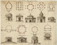 die 15 kapellen des sacro monte bei varese (2 works) by louis hippolyte le bas