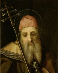 heiliger antonius by pier francesco di jacopo foschi