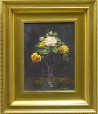 still life with roses by don freymuth