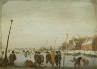 winterszene by hendrick avercamp